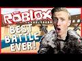 BEST BATTLE EVER!? | ROBLOX LEGENDARY | ROBLOX MEDIEVAL WAR!?