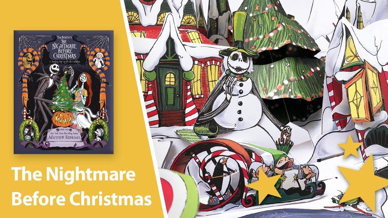 Build A Bear Nightmare Before Christmas Uk.The Nightmare Before Christmas Pop Up Book By Matthew Reinhart