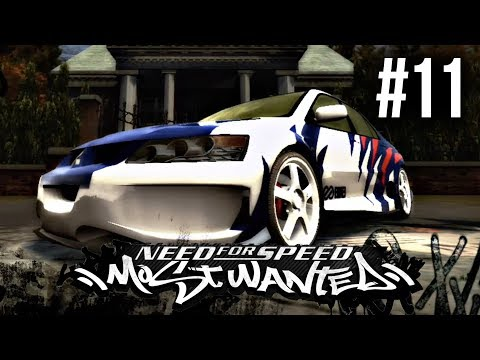 Need for Speed Most Wanted 2005 Gameplay Walkthrough Part 11 - I LOVE MY EVO