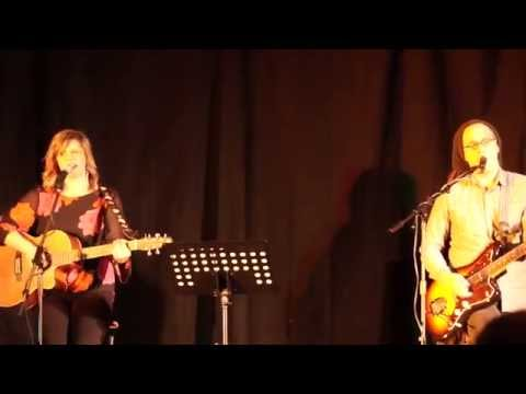 Vicky Emerson and Matt Patrick perform 'It's Over' at the WideSpot