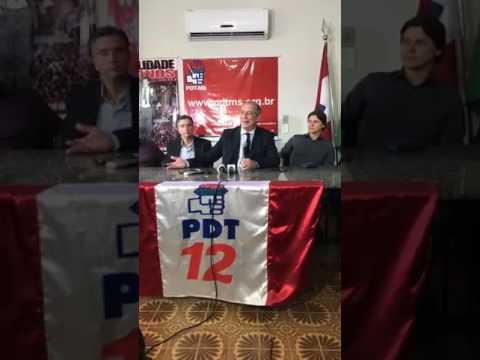 Ciro Gomes fala em evento do PDT no Mato Grosso do Sul (18/05/2017)