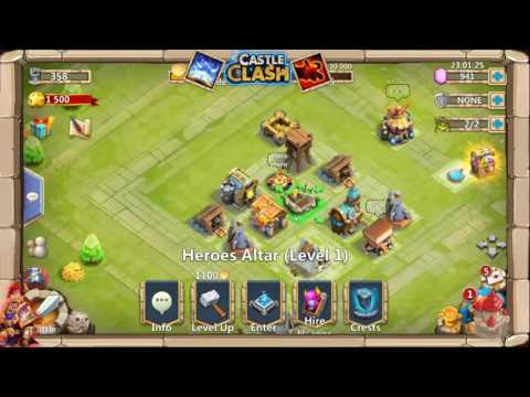 Castle Clash: F2P Series...? (Ep. 1) Account Name?