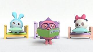 Умные песенки для самых маленьких   Малышарики - Число 3   музыкальные мультики для самых маленьких