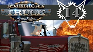American Truck Simulator | Part 14 | Make it Rain to Expand the Business - Gameplay Let's Play