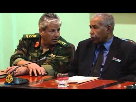 The National Transitional Council in Benghazi