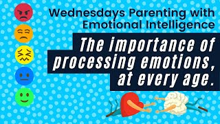 Ep. 10 Parenting with Emotional Intelligence: The Importance of Processing Emotions at Every Age