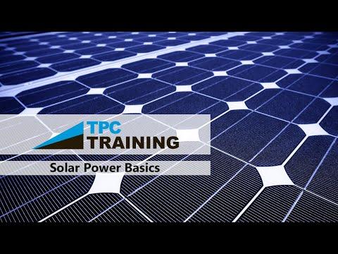 Solar Power Maintenance w/ TPC Online Webinar | TPC Training