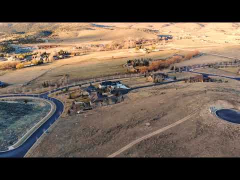 Heber City Old Stone Rd drone video