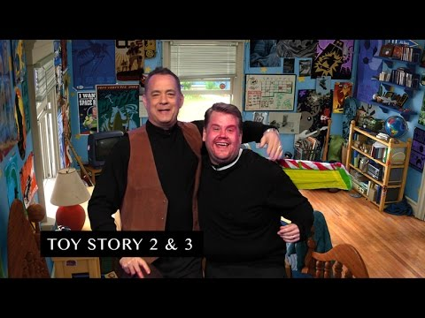Thumbnail: James Corden and Tom Hanks Act Out Tom's Filmography