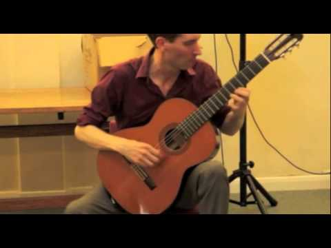 Flamenco and Classical Guitarist Chris Bourne - Available from AliveNetwork.com