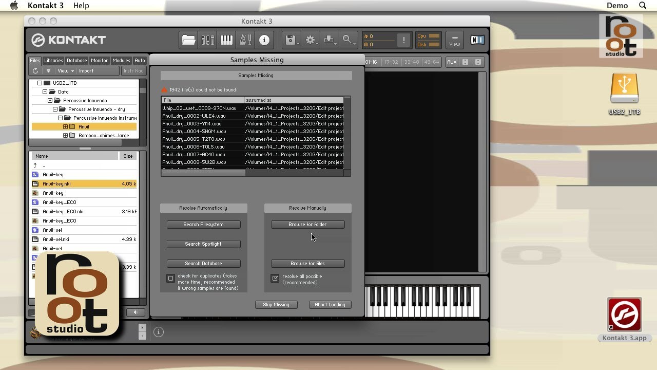 how to add a kontakt library