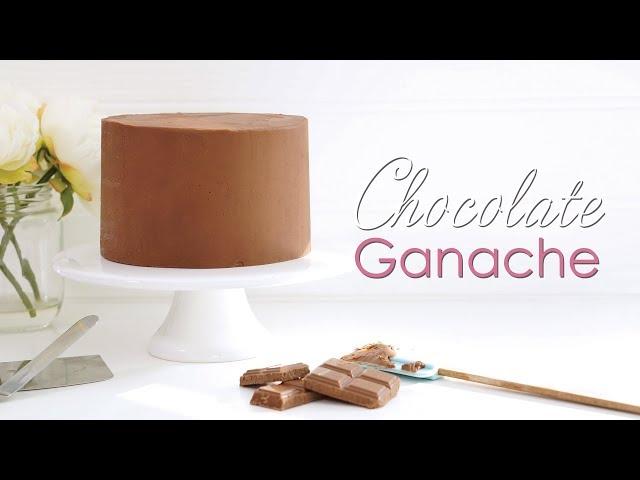 How to make amazing Chocolate Ganache - tutorial