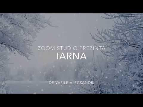Iarna, De Vasile Alecsandri, Mari Scriitori Romani
