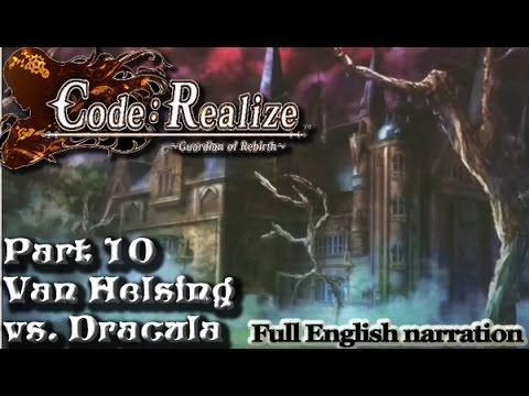 Code Realize Part 10  Van Helsing vs Dracula full English narrationPS Vita  YouTube
