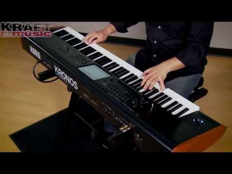Kraft Music - Korg New KRONOS Demo with Rich Formidoni