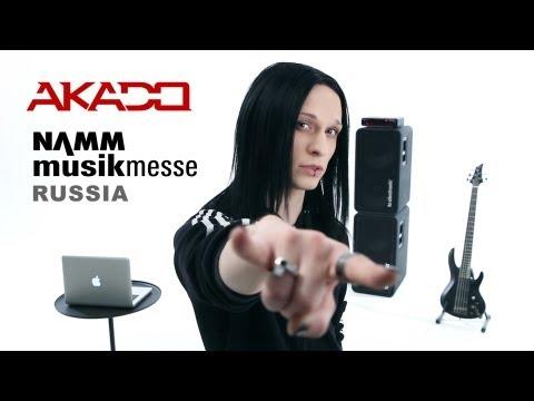 AKADO - Miomi Master Class (Namm Musikmesse Moscow) + English Subtitles