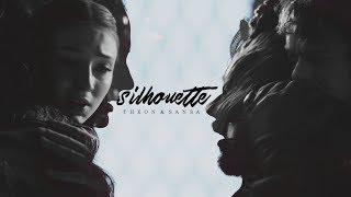 Theon Greyjoy & Sansa Stark • Silhouette [8x02]