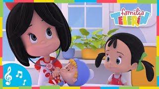 TENGO UNA MUÑECA VESTIDA DE AZUL. Familia Telerín. Canciones Infantiles para Niños. thumbnail