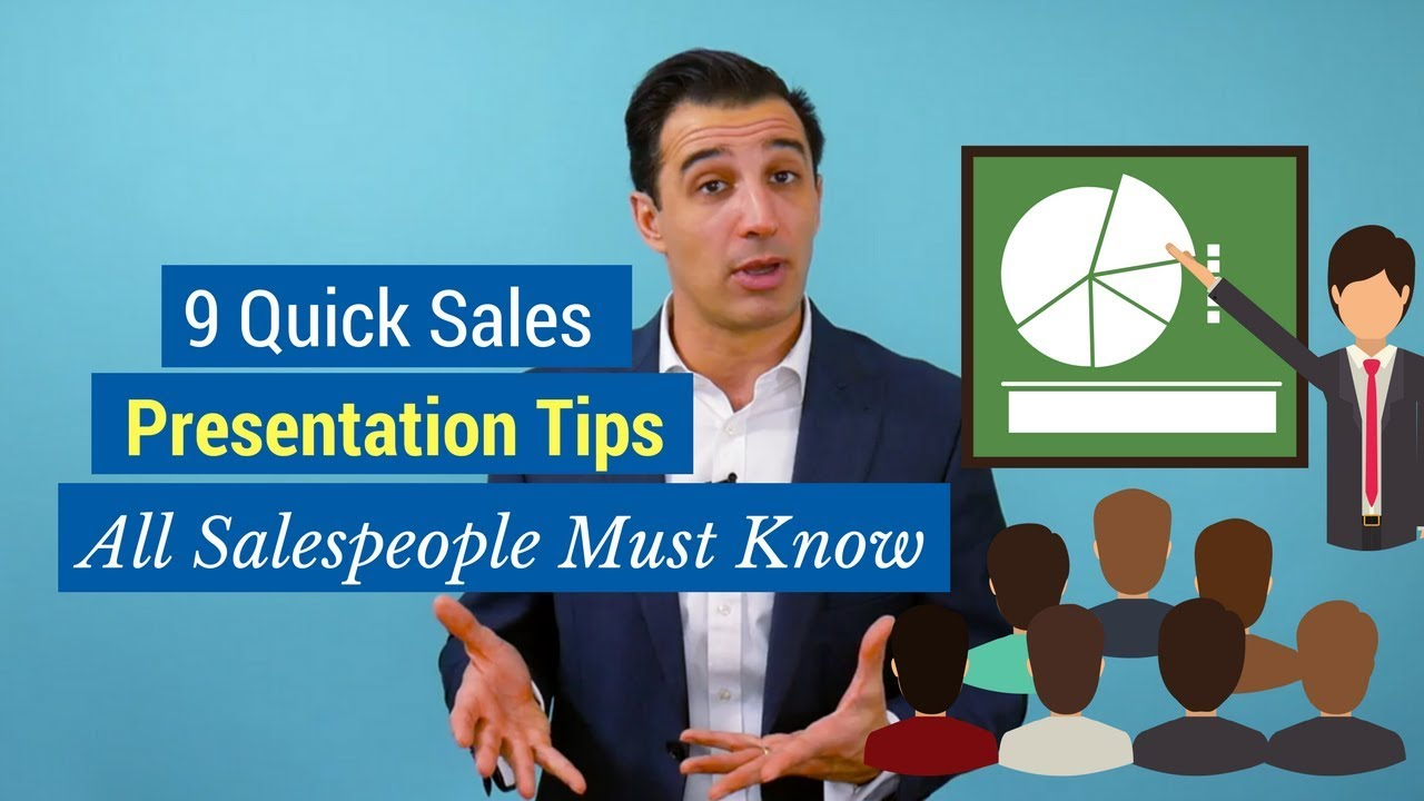 9 quick sales presentation tips all salespeople must know youtube