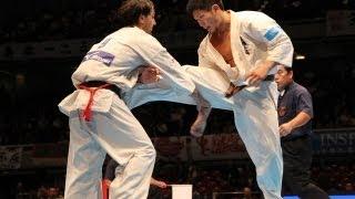 THE 10th WORLD KARATE CHAMPIONSHIP Men 4th round Marius Ilas vs Yuj...