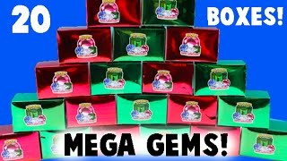 MEGA MEGA Gem Dig It Unboxing! 20 Boxes! Did I Find A Gem? Part One
