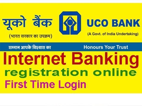 uco bank net banking process