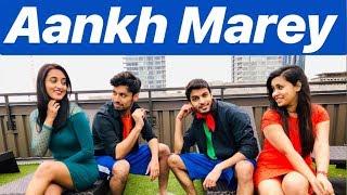Aankh Marey - Simmba | Dance Choreography | Abhishek, Annwesha, Arpit and Tejal