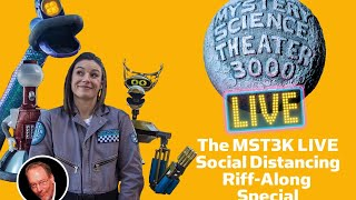 MST3K LIVE Social Distancing Riff-Along Special