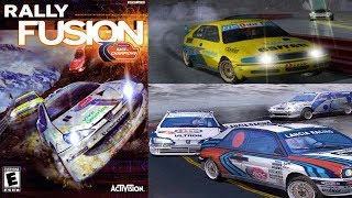 Rally Fusion: Race of Champions - Gameplay Moments PS2 HD