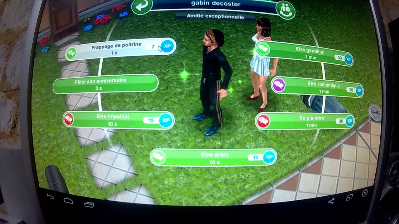 Comment se cr e une maison les sims free play youtube for Modele maison sims freeplay