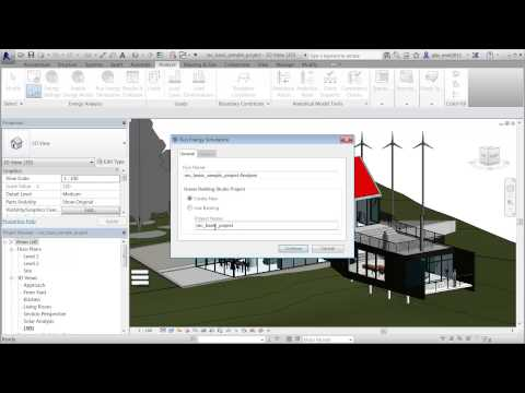 Energy Analysis for Revit 2014 building elements