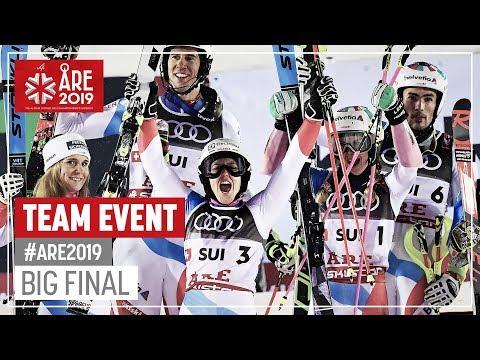 Switzerland  skis to gold   Team Event   Are   FIS World Alpine Ski Championships
