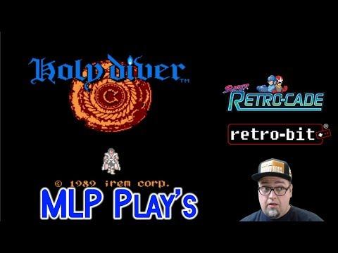 Holy Diver [NES, Retro-Bit Super Retro-Cade] MLP Live Stream