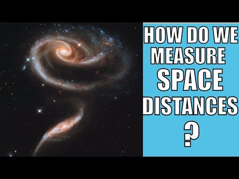 How Do We Measure Far Distances In Space?