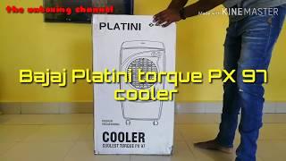Bajaj platini torque px97 cooler unboxing...