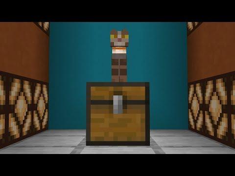 Как открыть сундук в Minecraft