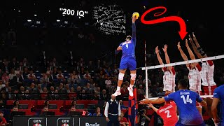 IQ 200 Volleyball Player   Earvin N'Gapeth   Smartest Player in Volleyball History (HD)