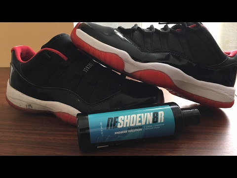 How To Deep Clean Jordan 11 Low Bred with Reshoevn8r