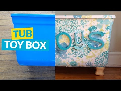Storage Tub Turned Toy Box<a href='/yt-w/1ZY10sajXng/storage-tub-turned-toy-box.html' target='_blank' title='Play' onclick='reloadPage();'>   <span class='button' style='color: #fff'> Watch Video</a></span>