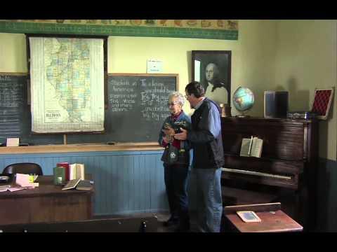 IL Stories Olde tyme School Cabin Print shop youtube