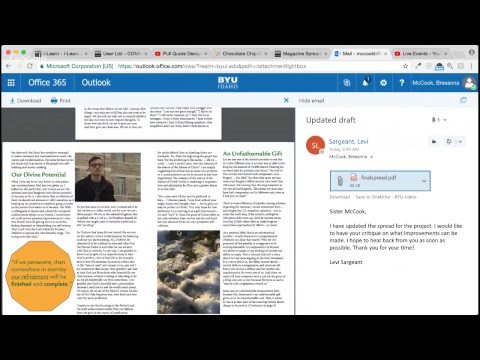 LS magazine spread review