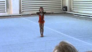"""""""Забавная царевна""""-показательное выступление по художественной гимнастике."""