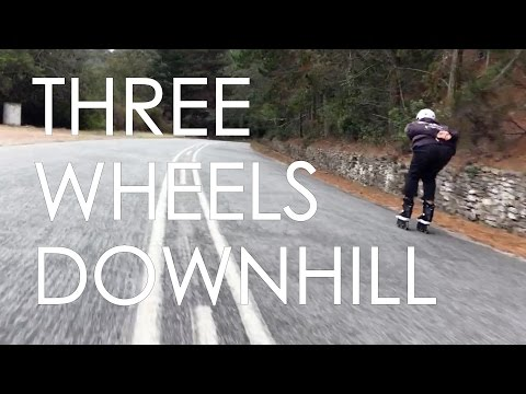 INLINE SKATING DOWNHILL ON 3 WHEEL SKATES IN SOUTH AFRICA // KIZER TRIMAX FRAMES // VLOG63