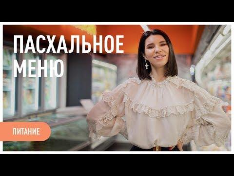 Меню на ПАСХУ 2019. Рецепт КУЛИЧА.