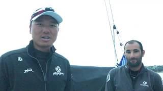 陳金浩2018輪英國和愛爾蘭遊艇比賽     東風
