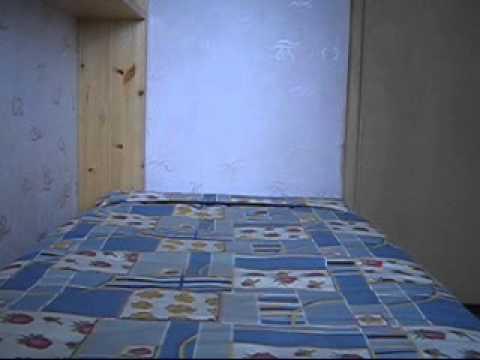 Простая откидная кровать для комнаты