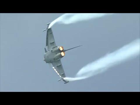 Airpower 2013 - C-130 Hercules and 2x Eurofighter Typhoon