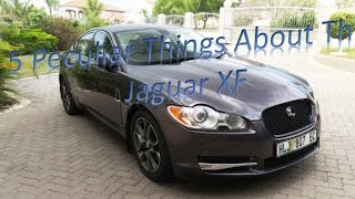 5 Quirks of The Jaguar XF