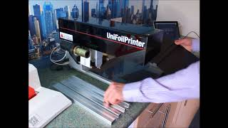 Thesis Binding using the Unifoil Printer & Unibinder 8.2