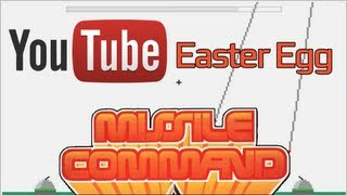 "1980 Missile Command - YouTube Secret ""Easter Egg"" (Tutorial)"